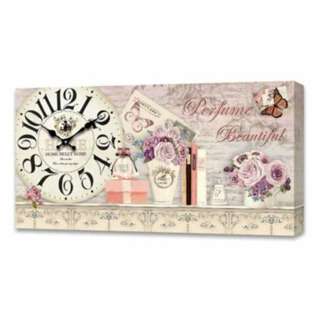 Falióra, vintage stílusú dekoráció - parfume 30cm x 60cm