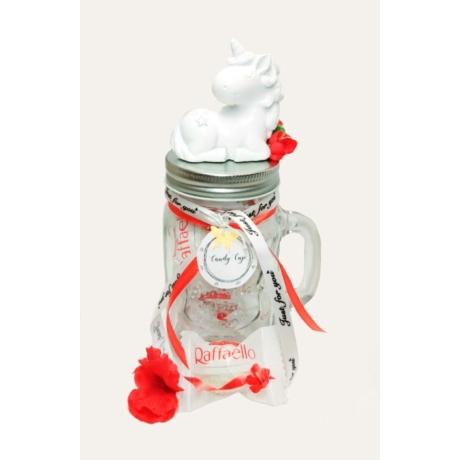 Candy Cup - egyszarvú - Raffaello