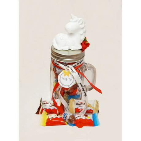 Candy Cup - egyszarvú - Kinder Happy Moments Mini Mix