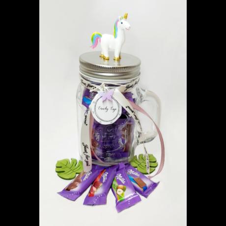 Candy Cup - egyszarvú - mini Milka
