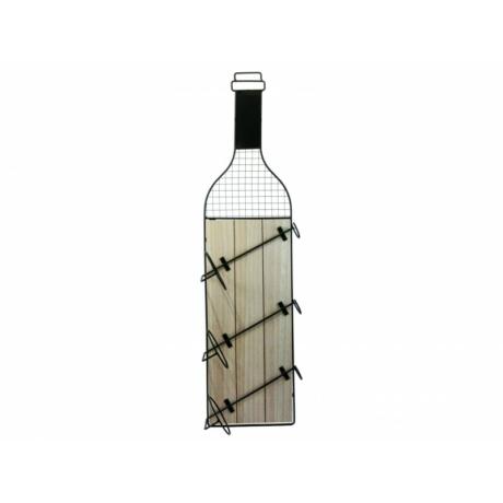 Fali bortartó 3 palackhoz